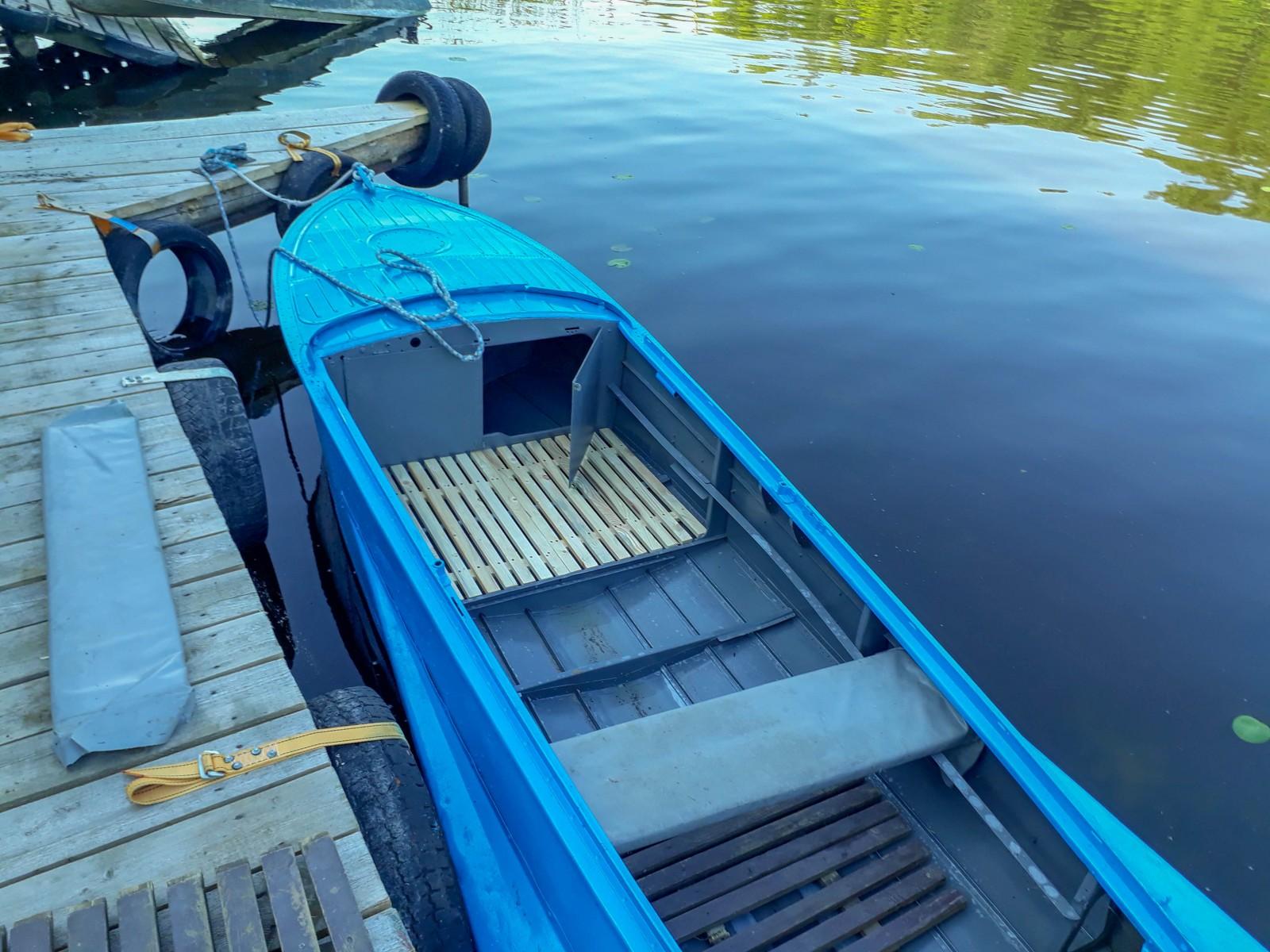 Прокат лодок на Иваньковском водохранилище